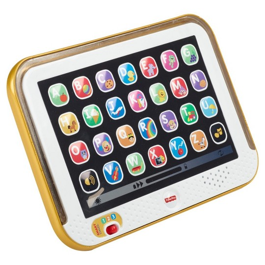 Fisher Price Laugh & Learn Smart Stages Tablet - Gold image number null
