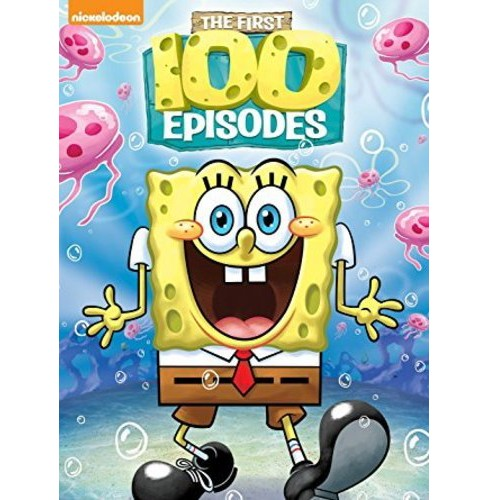 SpongeBob SquarePants First 100 Episodes (DVD) - image 1 of 1