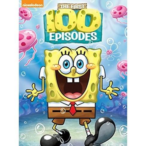 SpongeBob SquarePants First 100 Episodes (DVD) : Target