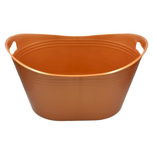 Utility Storage Tubs And Totes - Copper - Bella Storage Solution ...