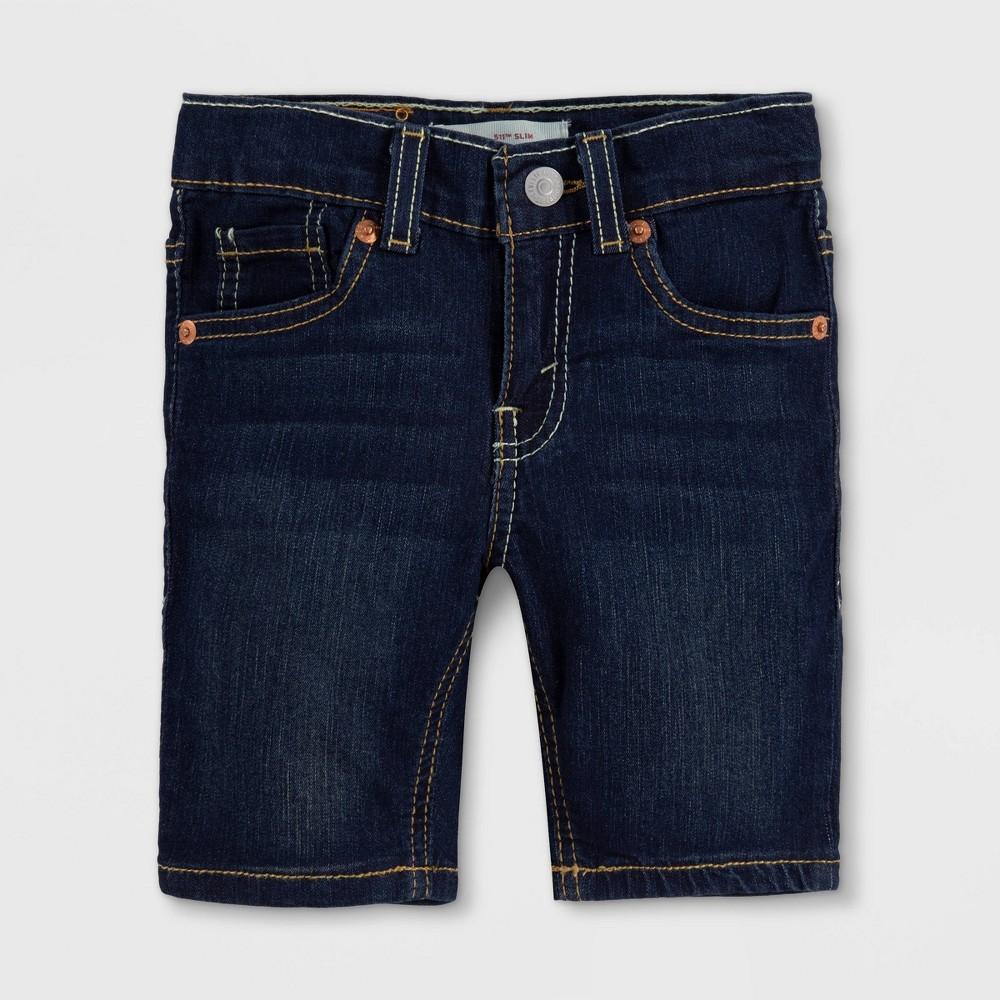 Levi 39 S 174 Toddler Boys 39 Lightweight 511 Jean Shorts Dark Denim Wash 4t