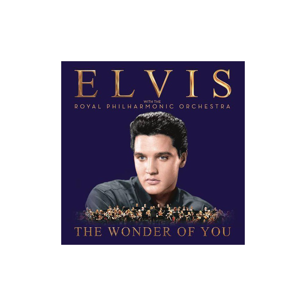 Elvis Presley Wonder Of You Elvis Presley With The Royal Philharmonic Orchestra Cd