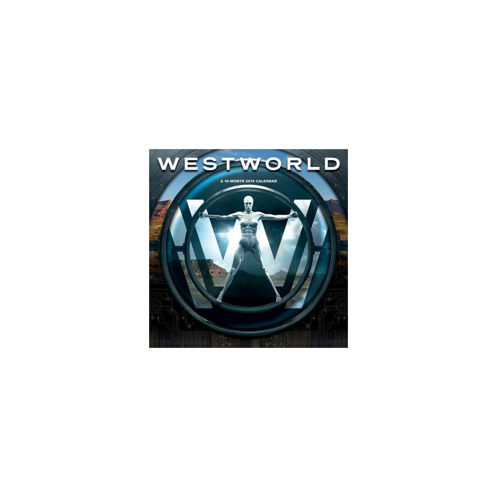 Westworld 2019 Calendar - (Paperback)