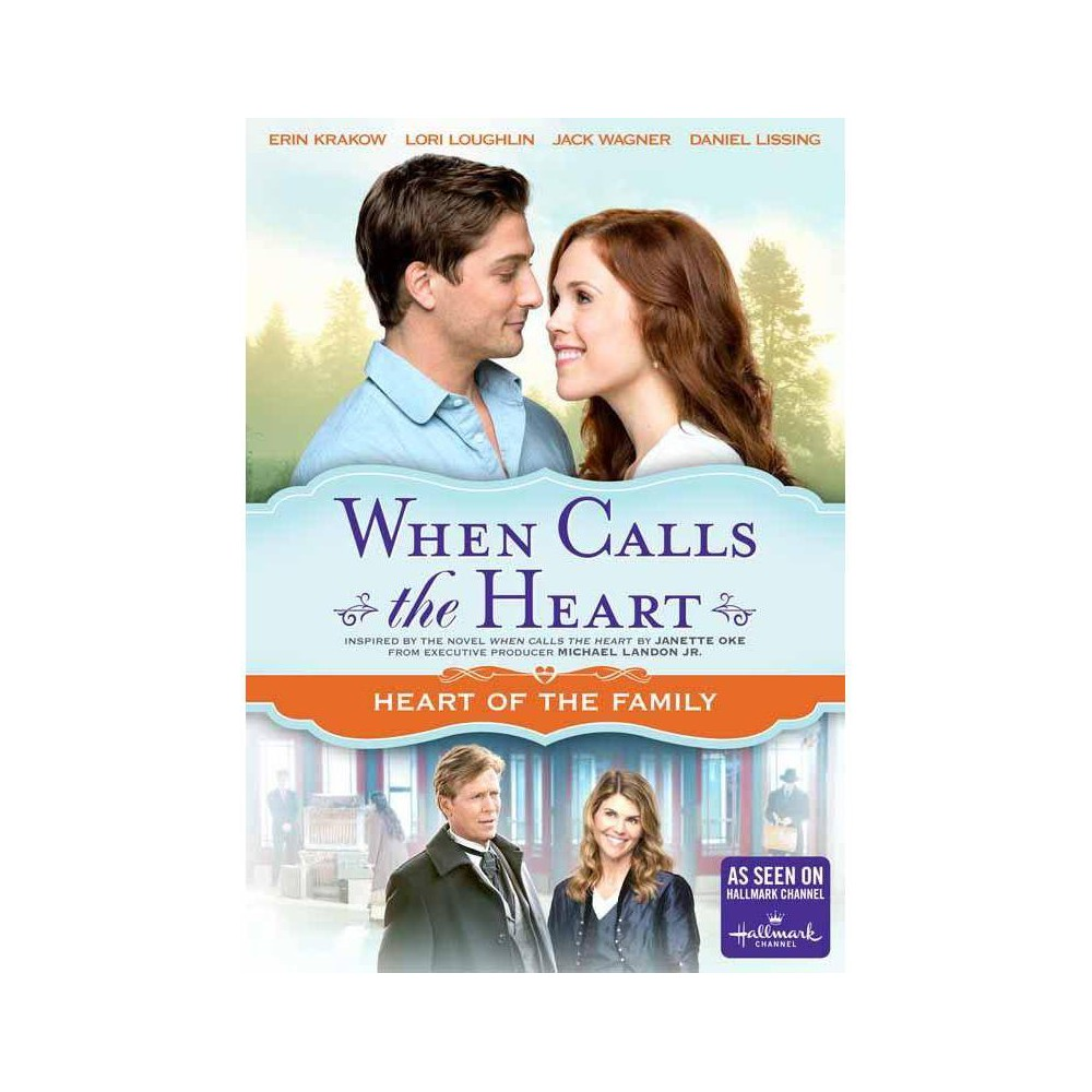 When Calls The Heart Heart Of The Family Dvd 2015