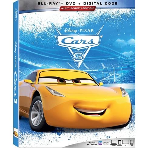 Cars 3 Blu Ray Dvd Digital Target