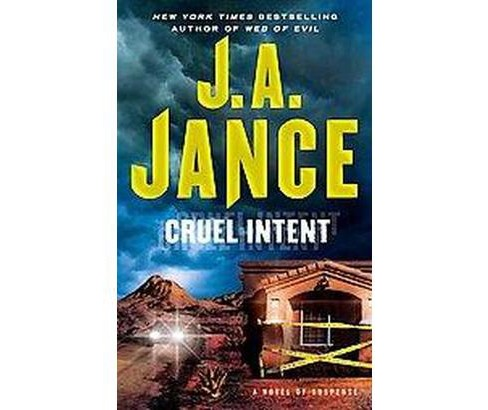 Cruel Intent (Reprint) (Paperback) by Judith A. Jance - image 1 of 1