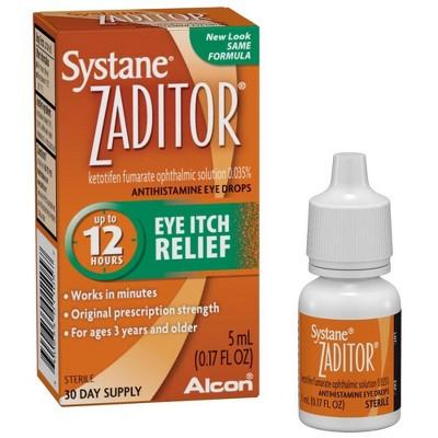 Zaditor Eye Itch Relief Drops