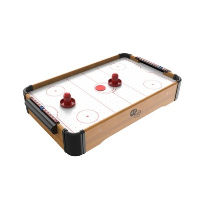 Toy Time Battery-Operated Mini Arcade Air Hockey Table With Pucks and Paddles