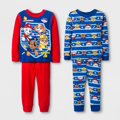 1a9f0c6a6 Baby Boys  PAW Patrol 4pc Cotton Pajama Set - Red   Target