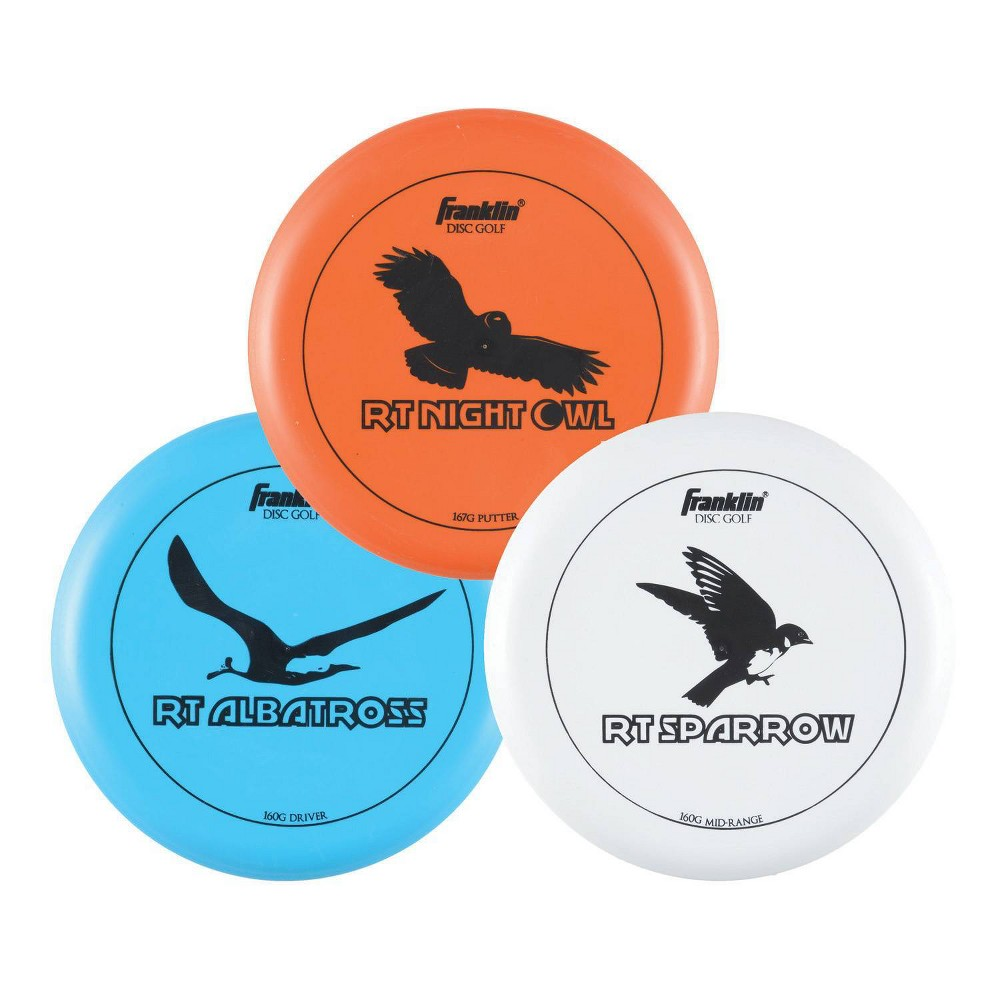 Franklin Sports 3pk Golf Disc Jam