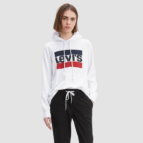 Levi's® Women's Graphic Track Hoodie - image 1 of 2