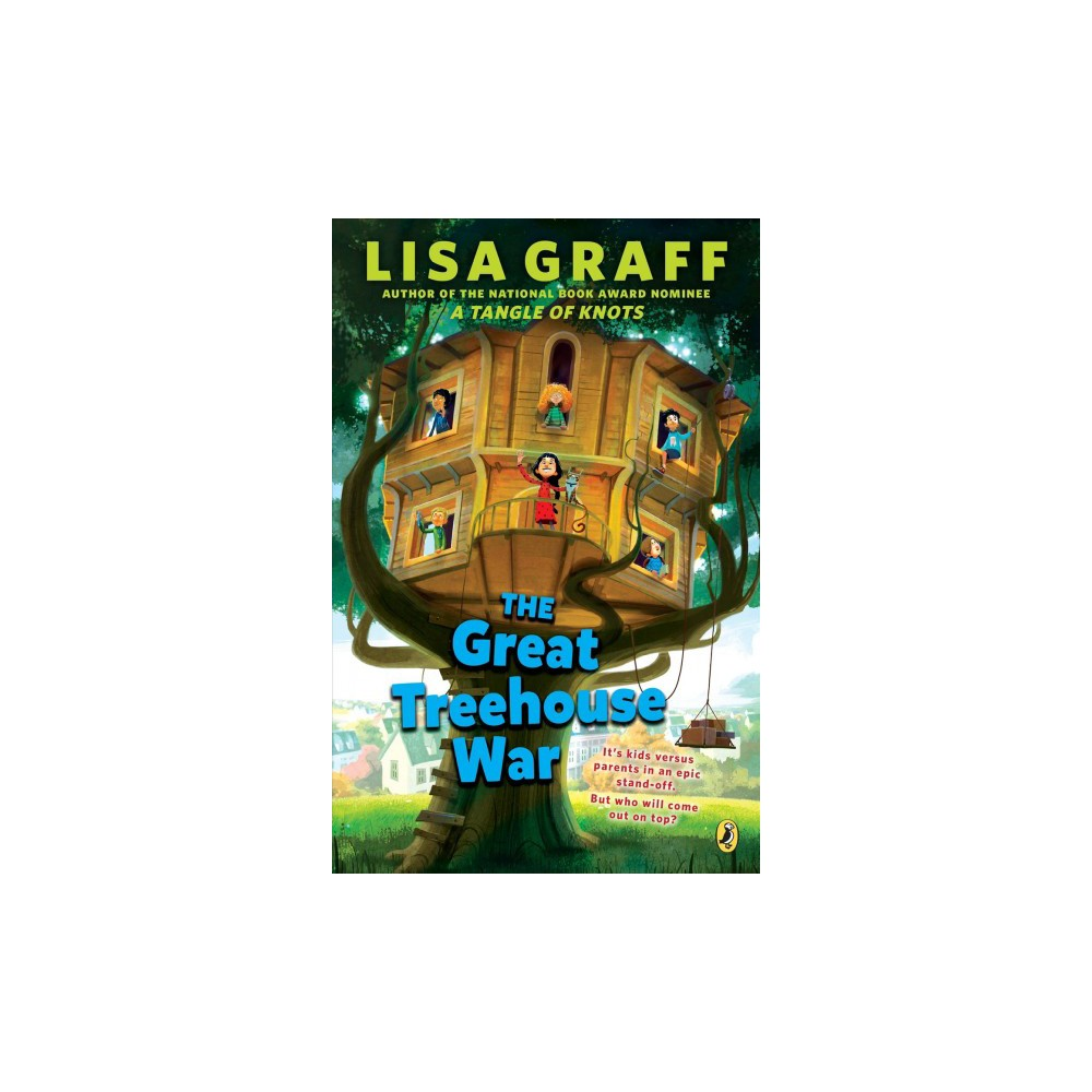 Great Treehouse War - Reprint by Lisa Graff (Paperback)