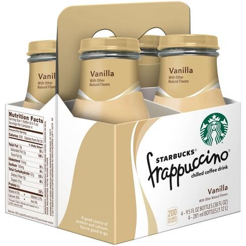 Starbucks Frappuccino Vanilla Coffee
