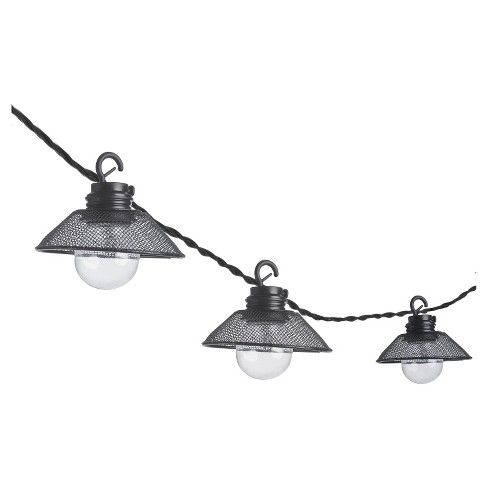 Paradise Garden 10 Ct LED String Light - Black Shades - image 1 of 1