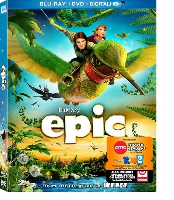 Epic (Blu-ray + DVD + Digital)