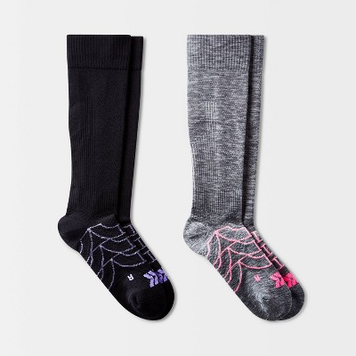 Women's Compression 2pk Knee High Athletic Socks - All in Motion™ 4-10