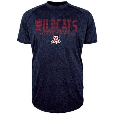 NCAA Arizona Wildcats Men's Short Sleeve Raglan T-Shirt