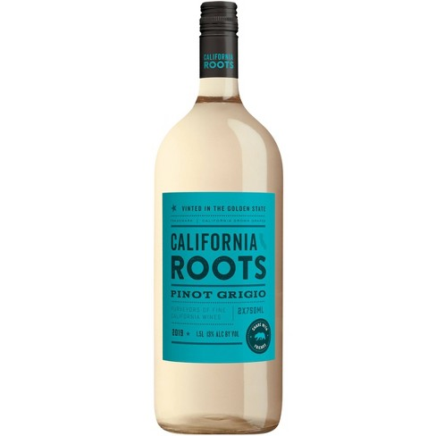 Pinot Grigio White Wine - 1.5L Bottle - California Roots™ - image 1 of 1