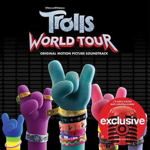 Trolls - World Tour Soundtrack (Target Exclusive, CD) - image 1 of 1