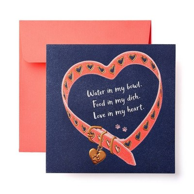 Cute Greeting Card From Dog For Mothers Day