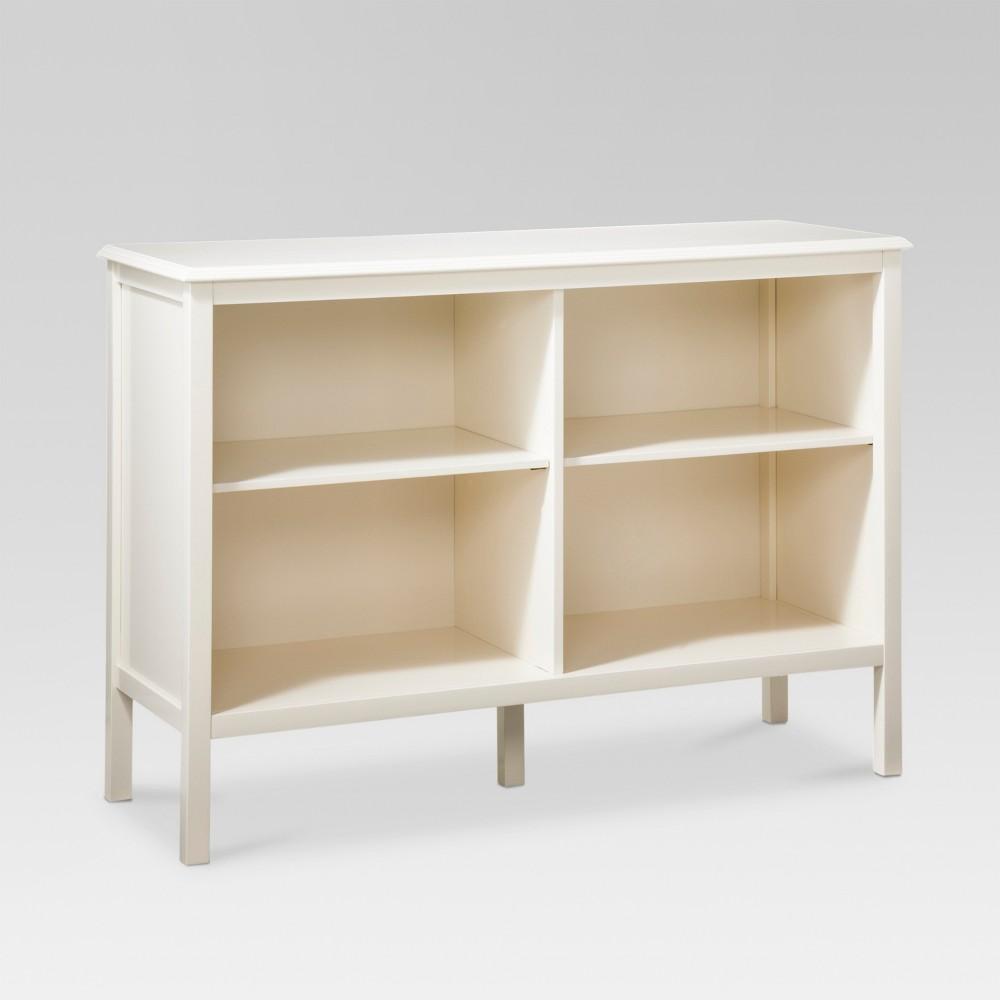 Windham 31.3 Horizontal Bookcase - Shell (White) - Threshold
