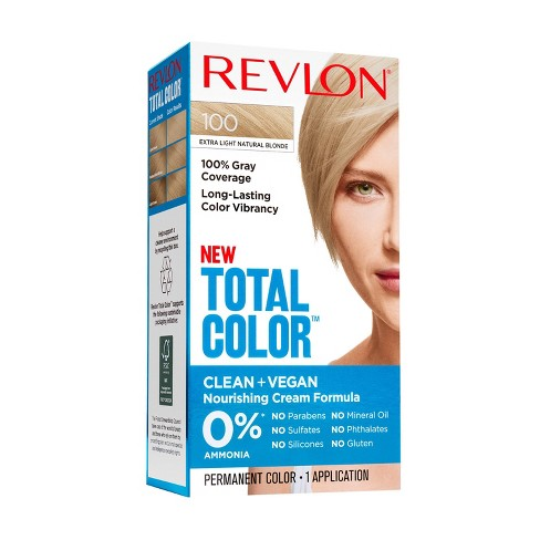 Revlon Total Color Clean and Vegan Hair Color With 100% Gray Coverage - image 1 of 4