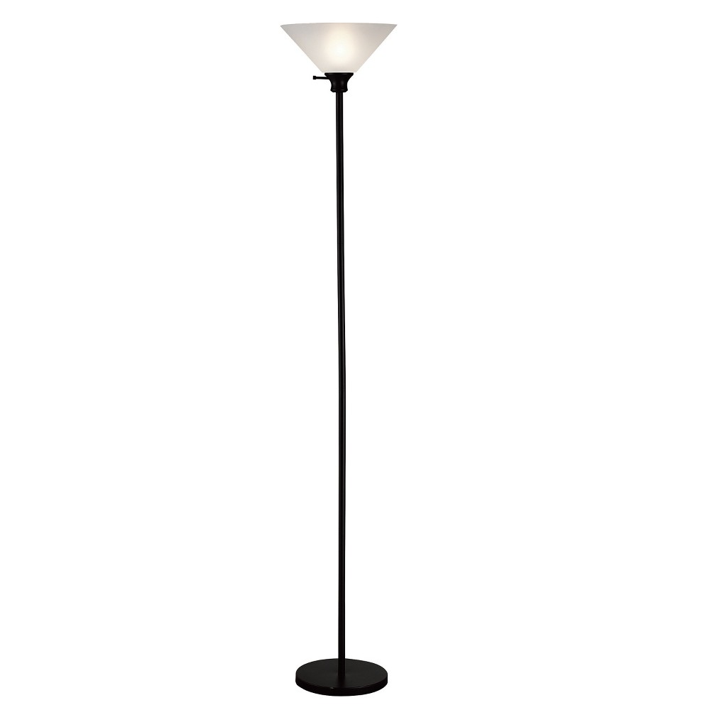 Floor Lamp (Lamp Only) - Home Source, Black