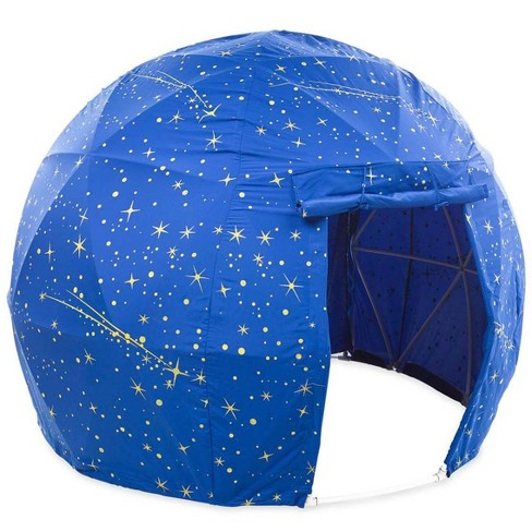 "Glow-In-The-Dark Space Dome Tent, 73"" Dia. X 55"" H - Hearthsong - image 1 of 2"