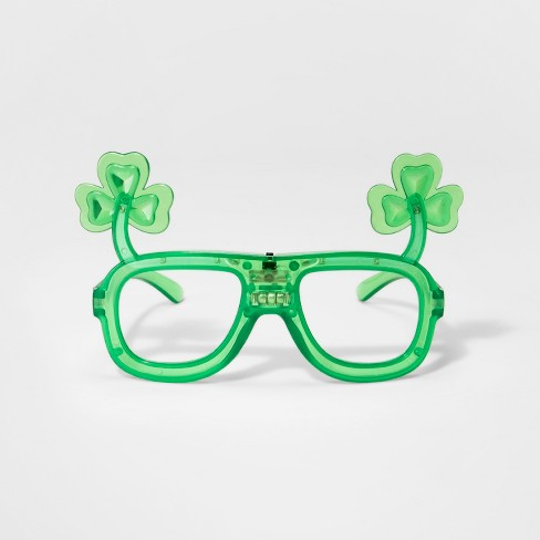 c34090f27e4 Light Up Clear Glasses - Green   Target