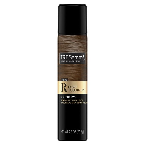 Tresemmé Root Touch Up Temporary Hair Color Spray Light Brown 2 5oz