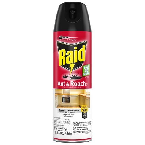 Raid Ant & Roach Killer 26 - Fragrance Free - 17 5oz