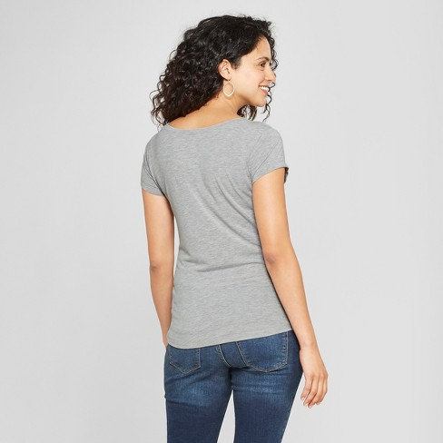 57d67d8f Maternity Strong Like A Mother Short Sleeve Graphic T-Shirt - Grayson  Threads Light Heather Gray : Target