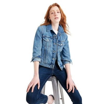 Women's Denim Trucker Jacket - Levi's® x Target
