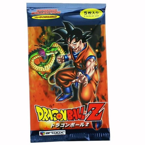 Dragon Ball Z Japanese Artbox Series 1 Trading Card Pack - 5 Cards   Target 2fa3d08ac68e