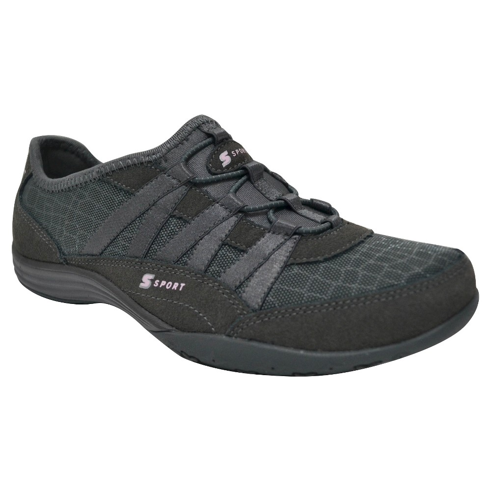 Women's S Sport By Skechers Relax'D Performance Athletic Shoes - Gray 10