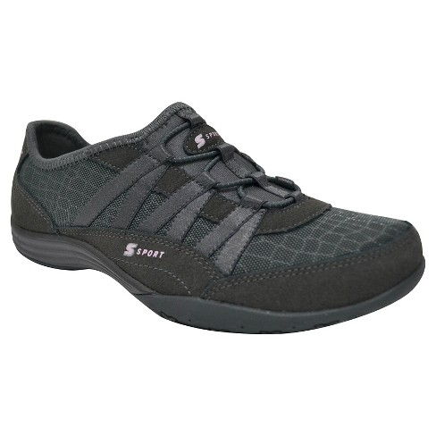 Women's S Sport By Skechers Relax'D  Performance Athletic Shoes - Gray - image 1 of 4