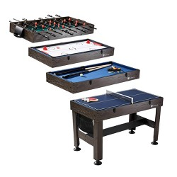 """MD Sports 54"""" 4 in 1 Combo Game Table"""