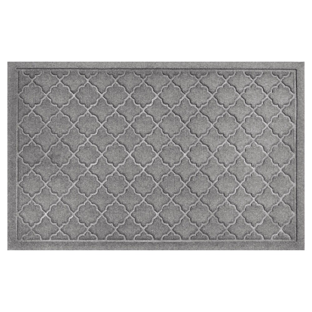 Medium Gray Solid Doormat - (2'X3') - Bungalow Flooring