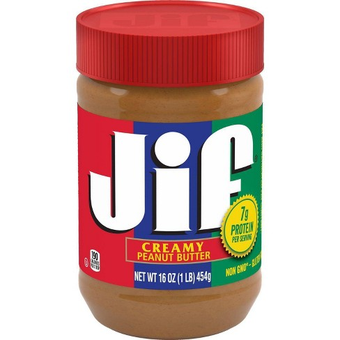 Jif Creamy Peanut Butter - 16oz - image 1 of 4