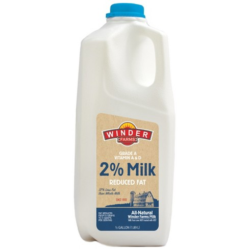 Winder Farms 2% Milk - 0.5gal - image 1 of 1