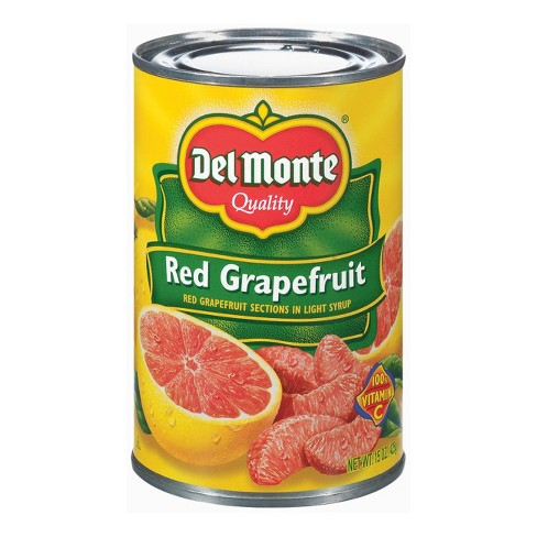 Del Monte Red Grapefruit Sections in Light Syrup 15 oz - image 1 of 1