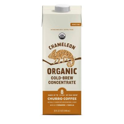 Chameleon Organic Churro Cold Brew Coffee Concentrate - 32 fl oz