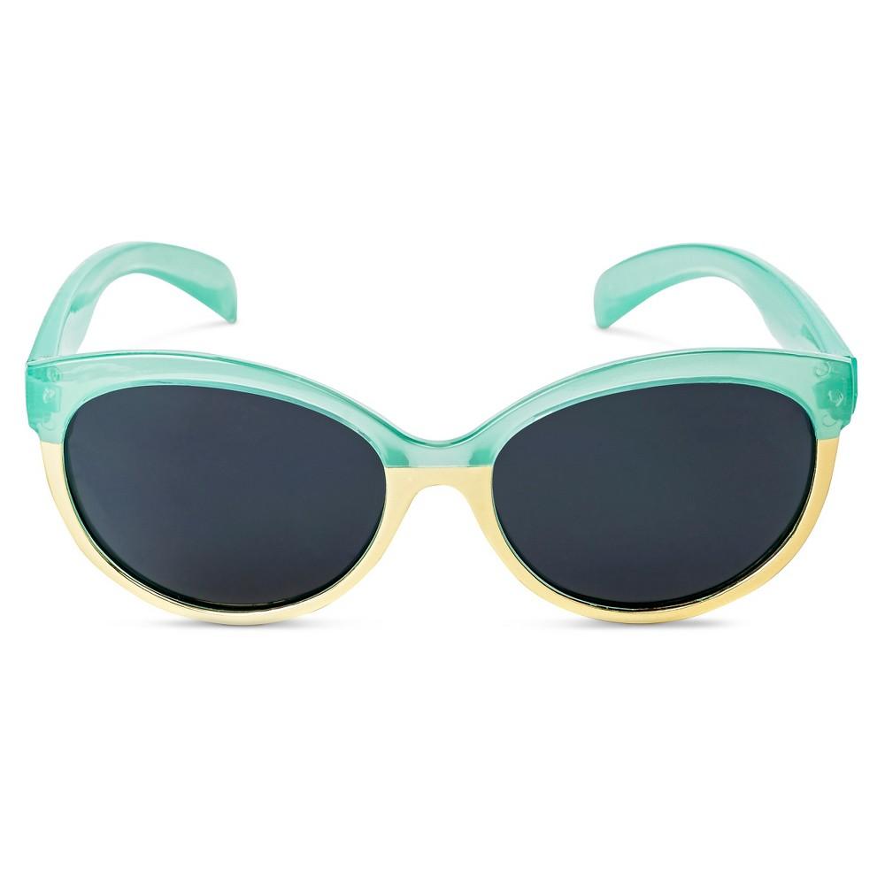 Girls' Round Sunglasses Aqua (Blue) - Circo