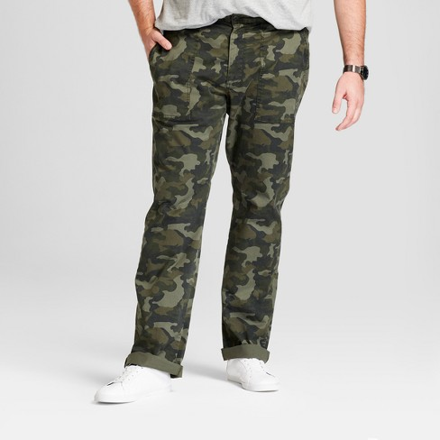 Men's Big & Tall Utility Cargo Pants - Goodfellow & Co™ Camo - image 1 of 3