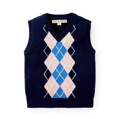 Hope & Henry Boys' V-Neck Sweater Vest, Kids