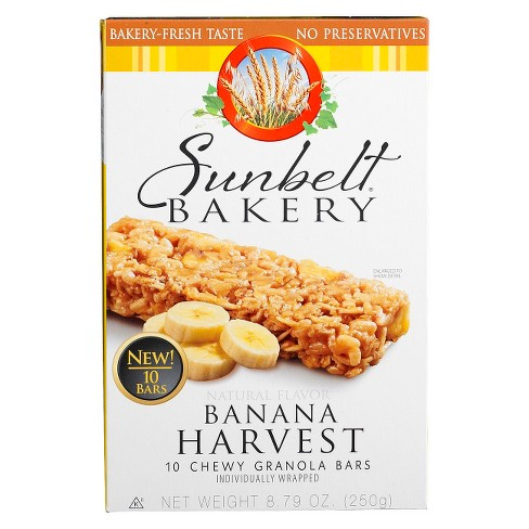 Sunbelt Bakery Banana Harvest Granola Bars 10ct - image 1 of 1