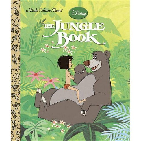 The Jungle Book (Disney the Jungle Book) - (Little Golden Book) (Hardcover) - image 1 of 1