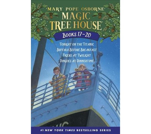 Magic Tree House Books 17-20: the Mystery of the Enchanted Dog : Tonight on the Titanic/Buffalo Before - image 1 of 1