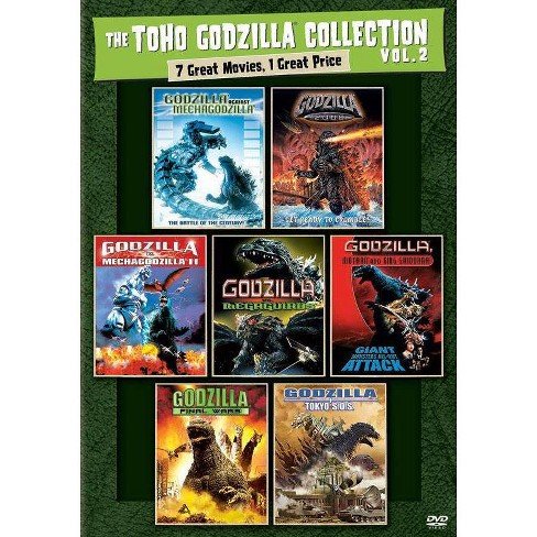 The Toho Godzilla Collection Vol. 2: 7 Great Movies (DVD) - image 1 of 1