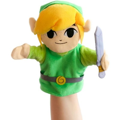 UCC Distributing The Legend of Zelda 9 Inch Plush Hand Puppet | Link